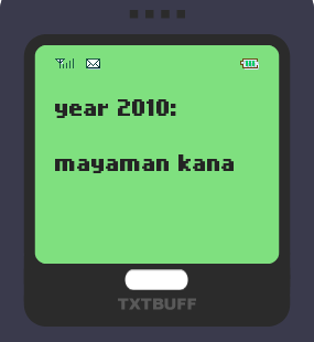 Text Message 19: Mayaman ka na nga e! in TxtBuff 1000
