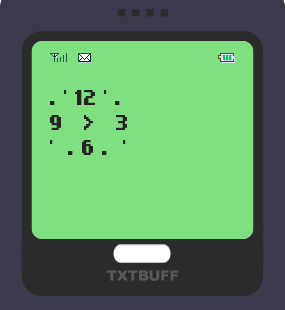Text Message 8844: Time will always fly