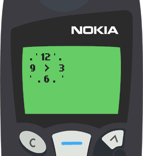 Text Message 8844: Time will always fly in Nokia 5110